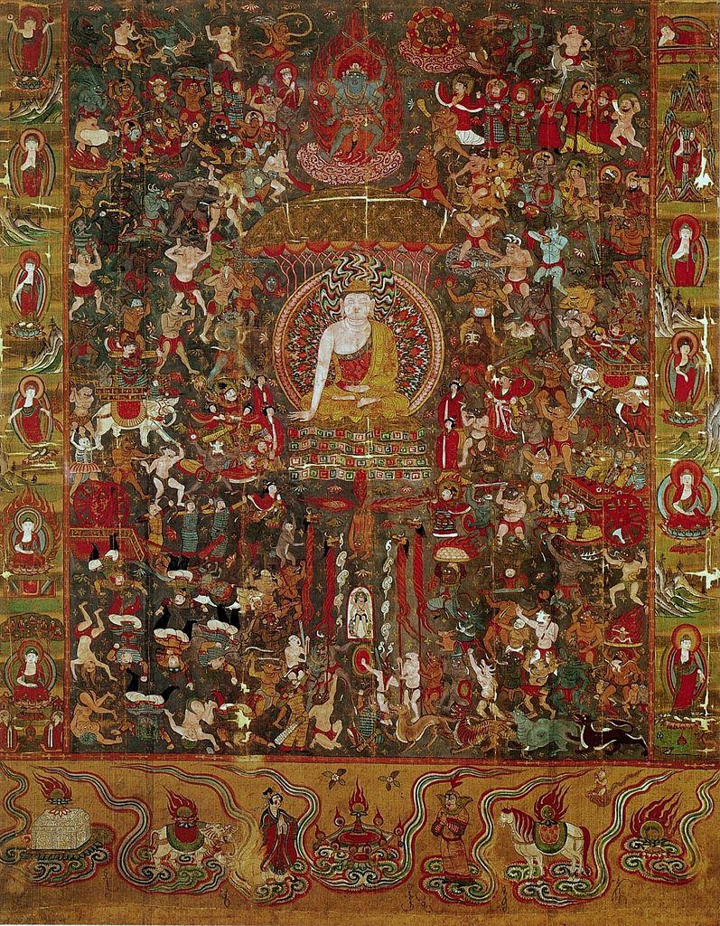 мара испытывает будду психология смысл
