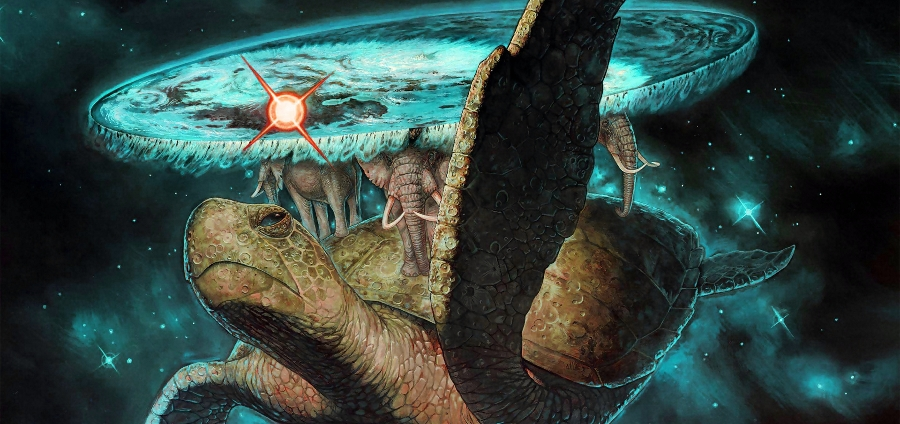 черепахи до самого низа метафора смысл